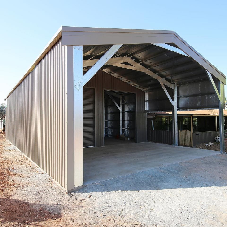 pilbara shed installation